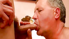 I don't care when mature daddies blowjob my hard dick