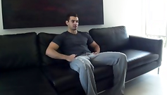 Watch this handsome hunk waiting to be softly perverted
